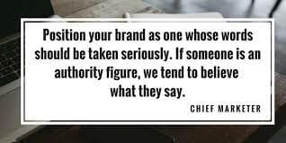 Quote on authority figure
