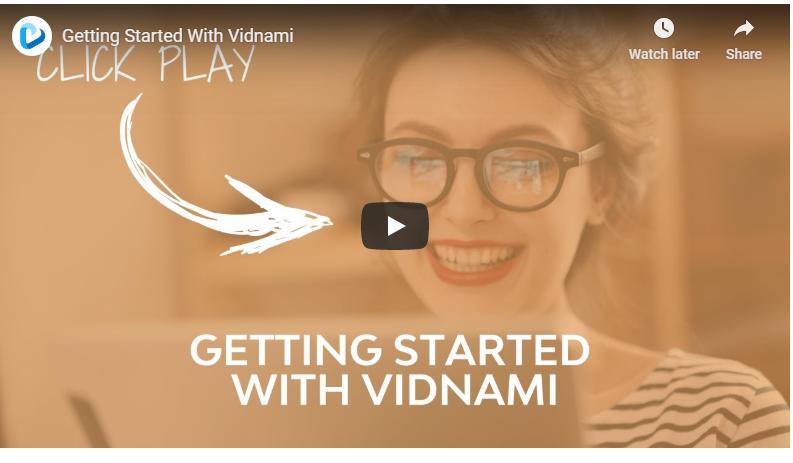 Vidnami is video success