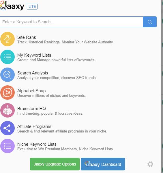 Google Keyword search trends