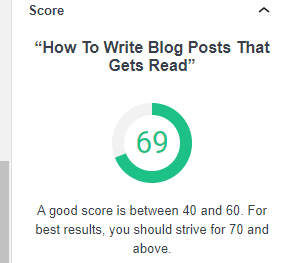 How to write blog posts that gets read