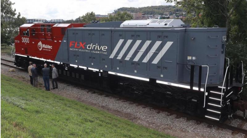 Battery powered train